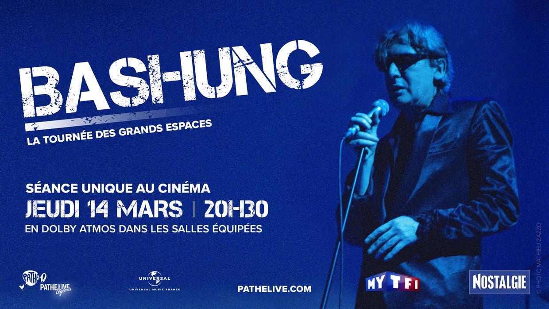 Photo du film Bashung au cinéma - La tournée des grands espaces (Pathé Live)
