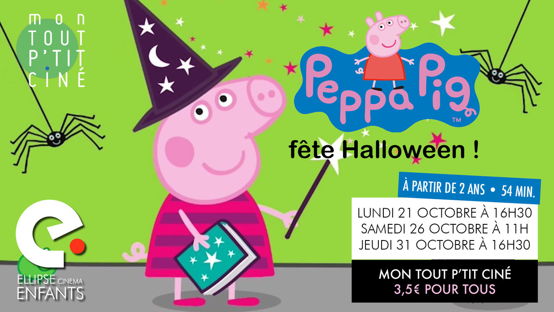 Photo du film Peppa Pig fête Halloween