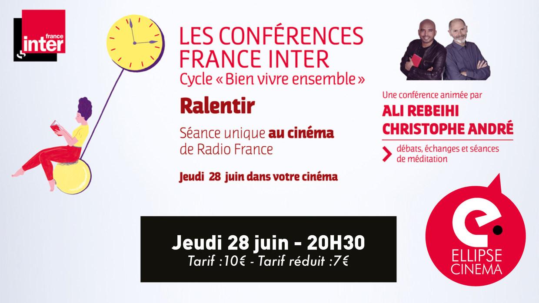 Photo du film Ralentir - Conférences France inter